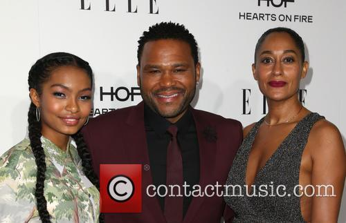 Yara Shahidi, Anthony Anderson and Tracee Ellis Ross 6