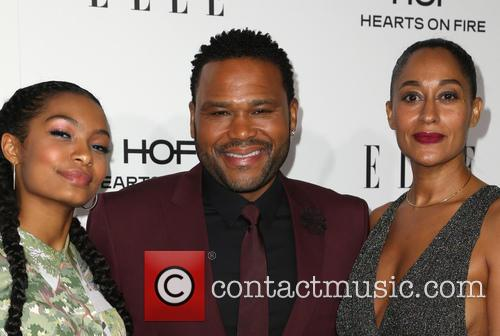Yara Shahidi, Anthony Anderson and Tracee Ellis Ross 7