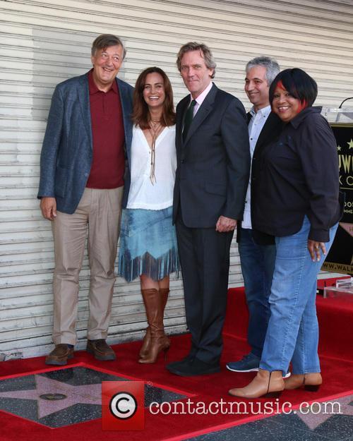 Stephen Fry, Diane Farr, Hugh Laurie, David Shore and Jean Mcclain Aka Pepper Mashay 2