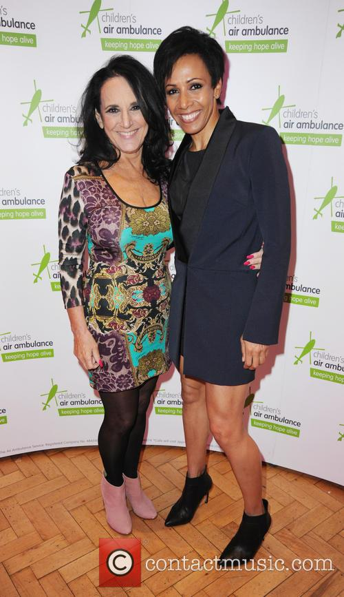 Lesley Joseph and Dame Kelly Holmes