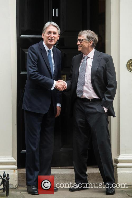 Bill Gates and Philip Hammond