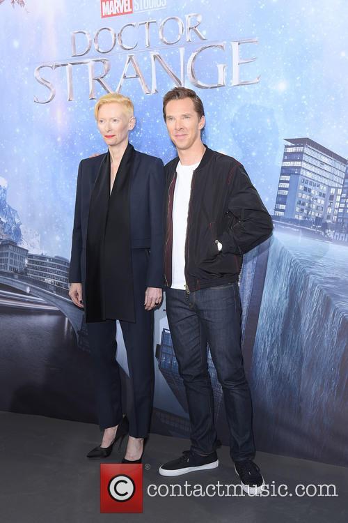 Tilda Swinton and Benedict Cumberbatch 2