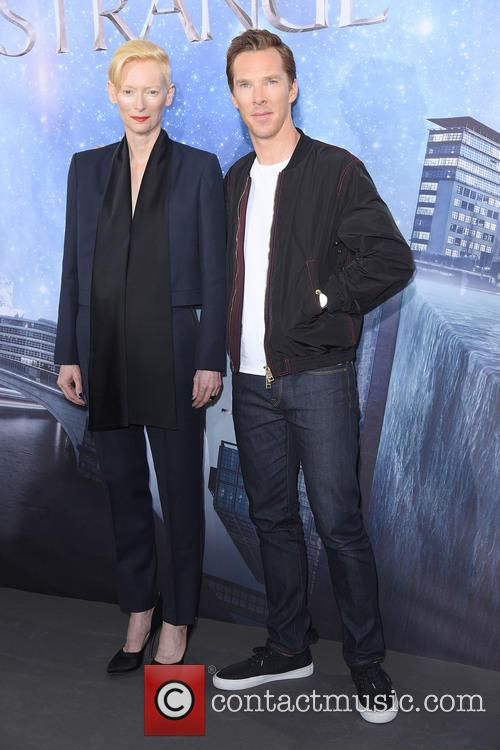 Tilda Swinton and Benedict Cumberbatch 3