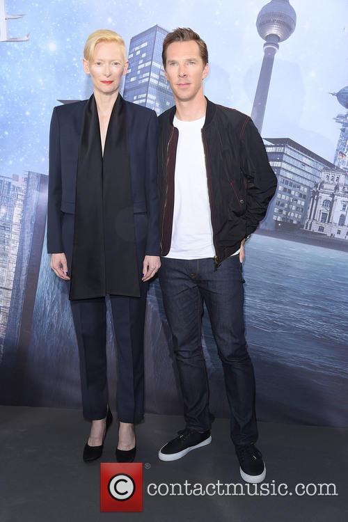 Tilda Swinton and Benedict Cumberbatch 4