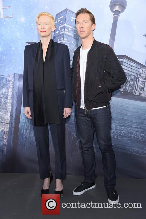 Tilda Swinton and Benedict Cumberbatch 5