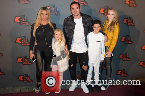 Katie Price, Princess Tiaamii, Kieran Hayler and Junior Andre 1