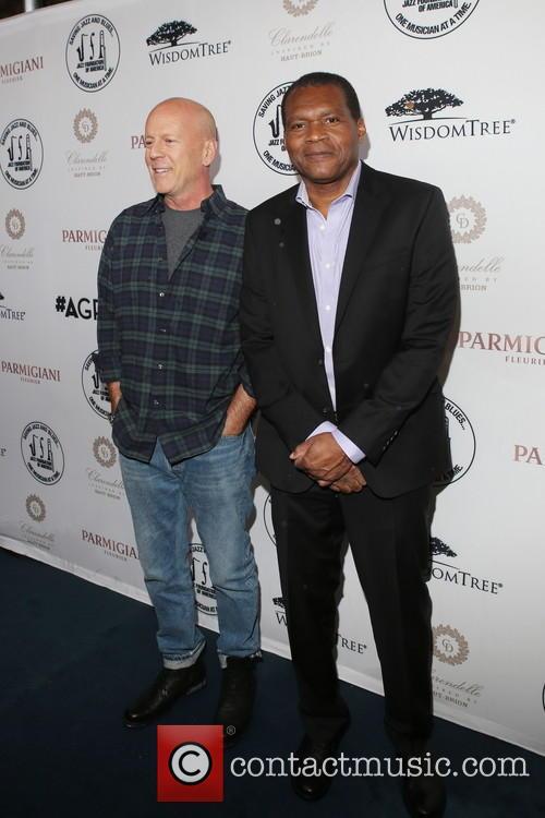 Bruce Willis and Robert Cray 1