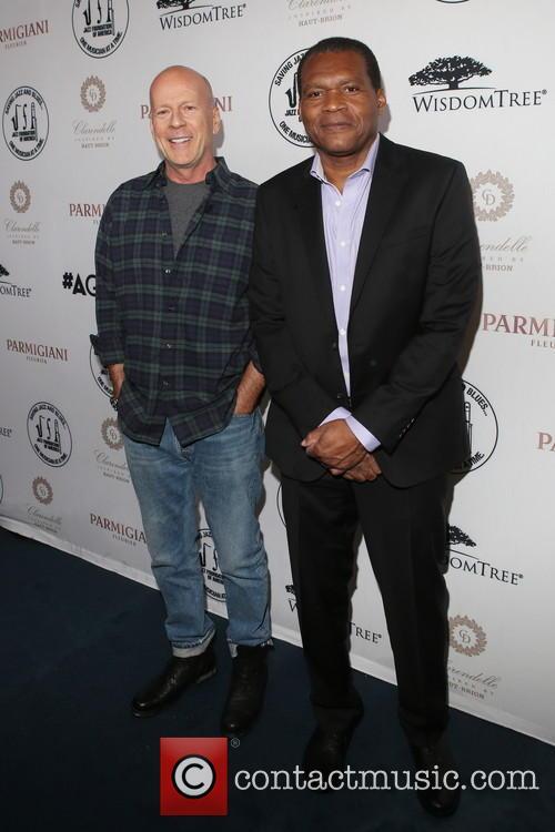 Bruce Willis and Robert Cray 2
