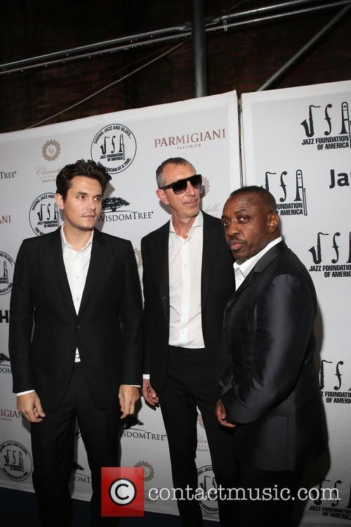 John Mayer, Pino Palladino and Steve Jordon 3