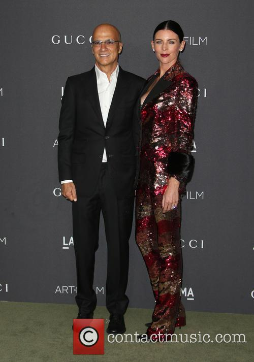 Jimmy Iovine and Liberty Ross