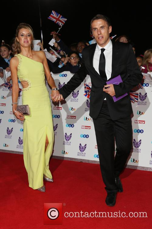 Julie Neville and Phil Neville
