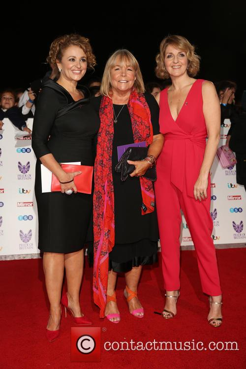 Nadia Sawalha, Linda Robson and Kay Adams