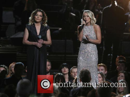Martina Mcbride and Carrie Underwood