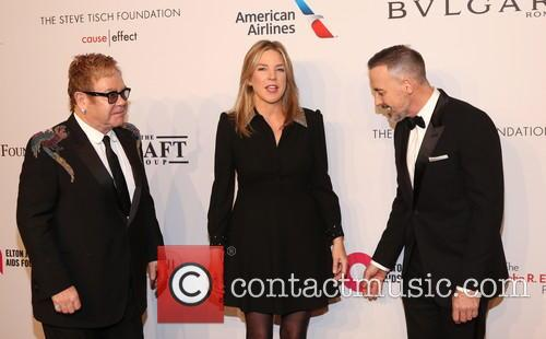 Sir Elton John, ­­­­­­­­­­­­­diana Krall and David Furnish 1