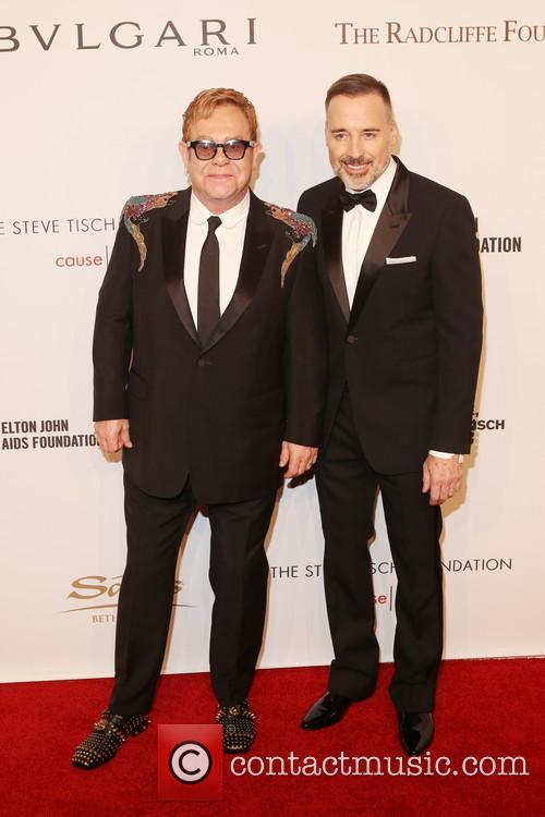 Sir Elton John and David Furnish 7
