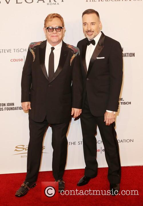 Sir Elton John and David Furnish 8