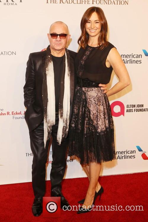 Bernie Taupin and Heather Taupin 1
