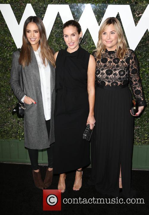 Jessica Alba, Katherine Power and Hillary Kerr 5