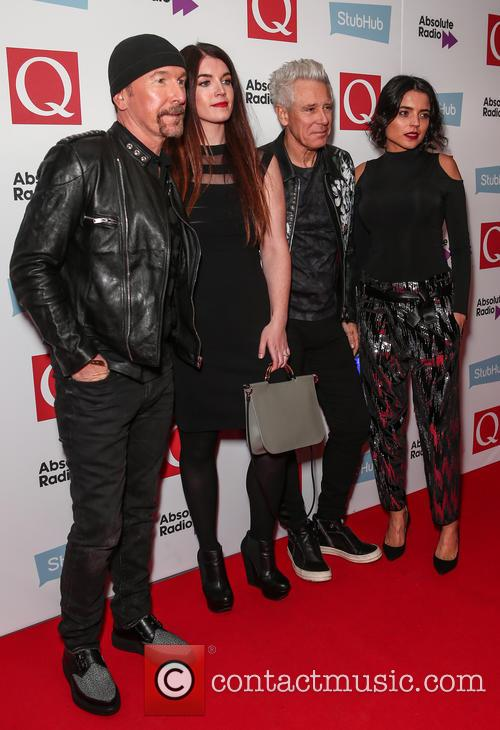 U2, The Edge, David Evans and Adam Clayton 3