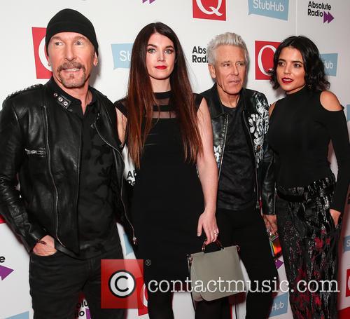 U2, The Edge, David Evans and Adam Clayton 6