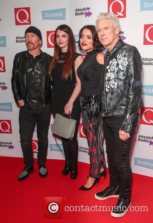 U2, The Edge, David Evans and Adam Clayton 7