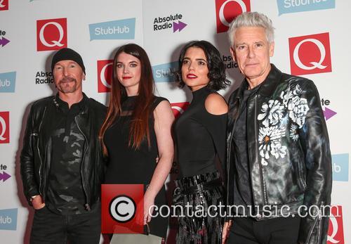 U2, The Edge, David Evans and Adam Clayton 10