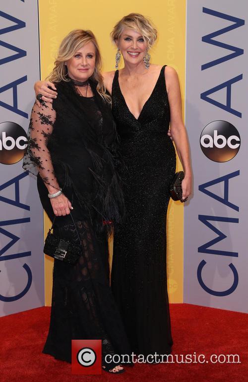 Sharon Stone and Kelly Stone 2