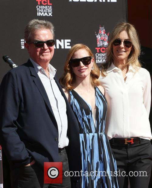 John Madden, Jessica Chastain and Kathryn Bigelow 1