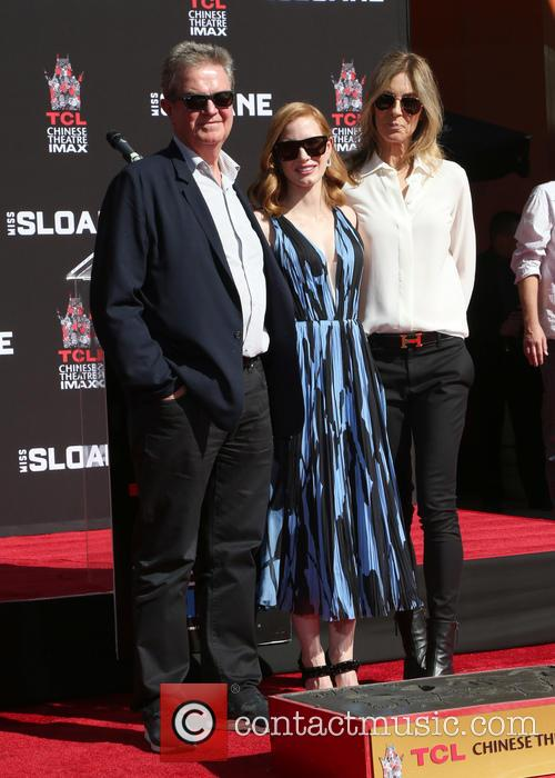 John Madden, Jessica Chastain and Kathryn Bigelow 2