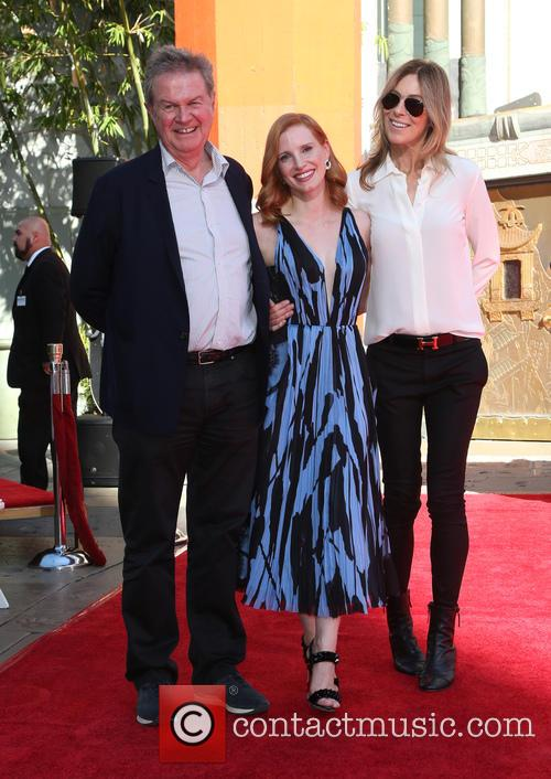 John Madden, Jessica Chastain and Kathryn Bigelow 3