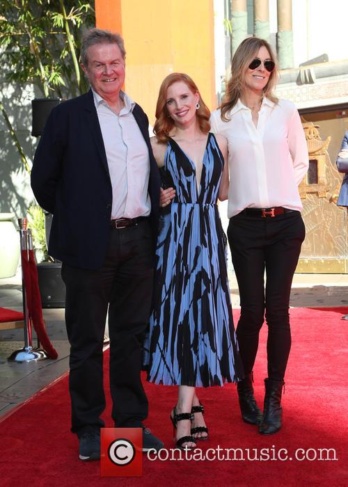 John Madden, Jessica Chastain and Kathryn Bigelow 5