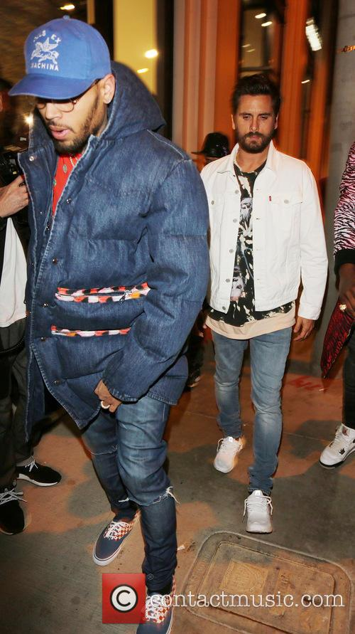 Chris  Brown and Scott Disick 3