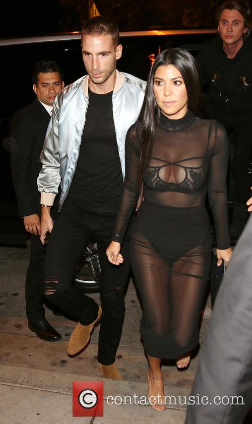 Kourtney Kardashian and Jonathan Cheban