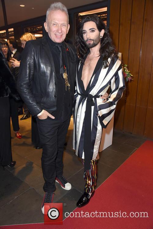 Conchita Wurst and Jean Paul Gaultier 2