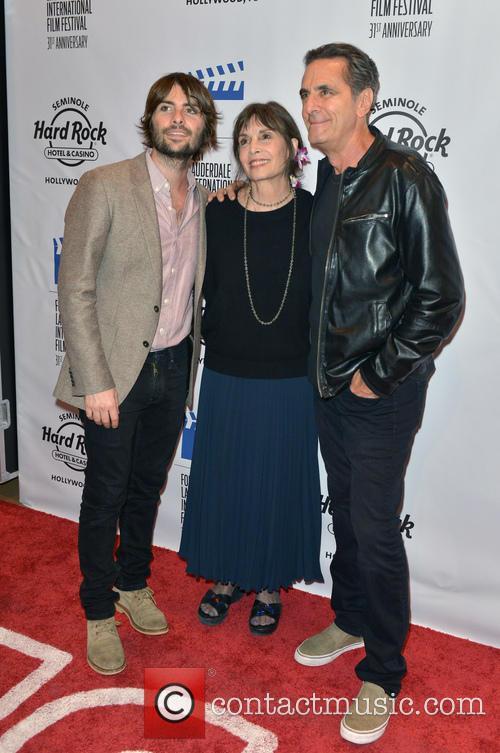 Robert Schwartzman, Talia Shire and Robin Thomas