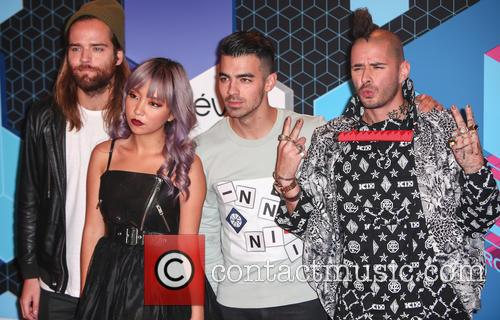 Dnce, Joe Jonas, Jack Lawless, Jinjoo Lee and Cole Whittle