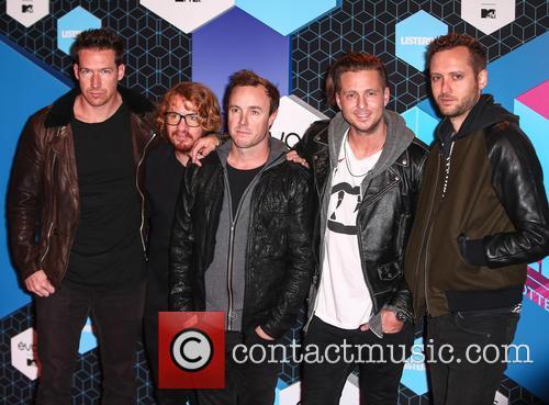Zach Filkins, Ryan Tedder, Eddie Fisher, Brent Kutzle, Drew Brown and Onerepublic 2