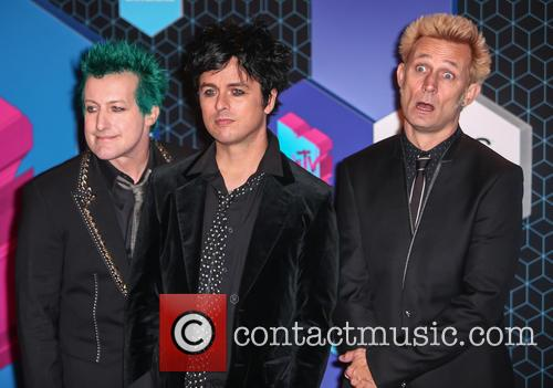 Green Day, Billie Joe Armstrong, Mike Dirnt, Tré Cool and Tre Cool 4