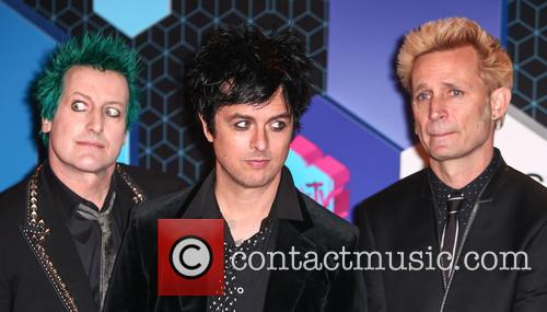Green Day, Billie Joe Armstrong, Mike Dirnt, Tré Cool and Tre Cool 7