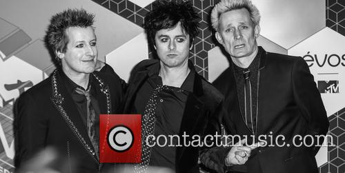 Green Day, Billie Joe Armstrong, Mike Dirnt, Tré Cool and Tre Cool 10