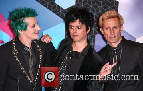 Green Day, Billie Joe Armstrong, Mike Dirnt, Tré Cool and Tre Cool 11