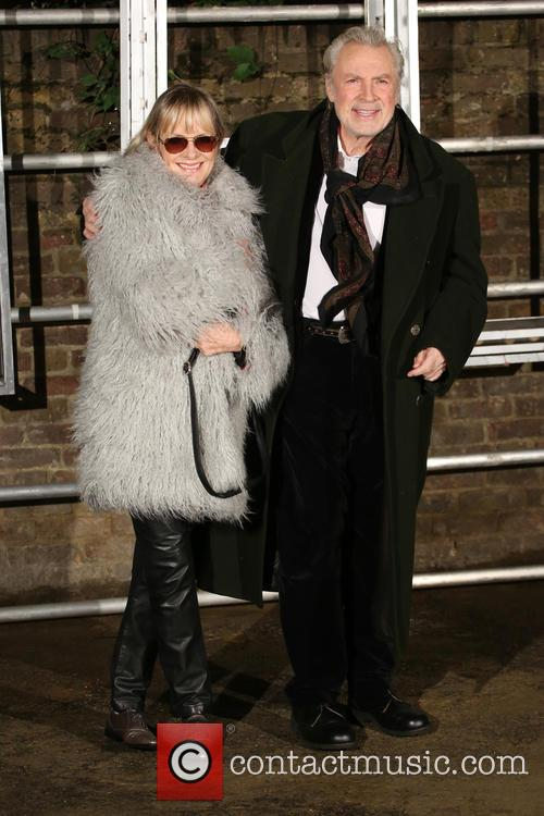Twiggy and Leigh Lawson