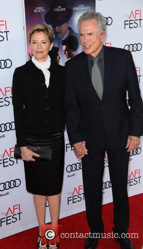 Annette Benning and Warren Beatty 1