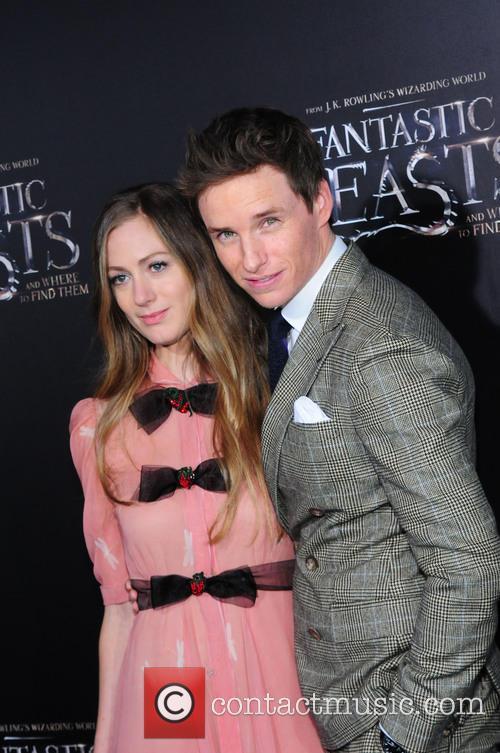 Eddie Redmayne and Hannah Bagshawe 1