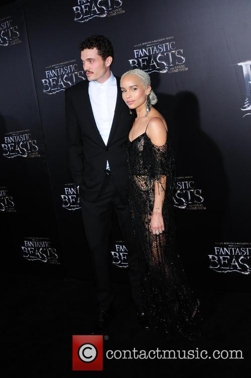 Zoe Kravitz and Karl Glusman 2