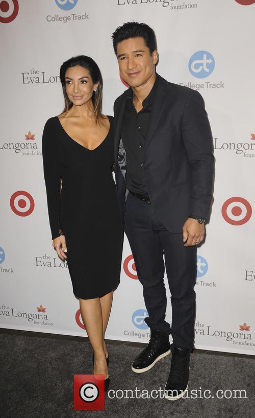 Mario Lopez and Courtney Mazza 1