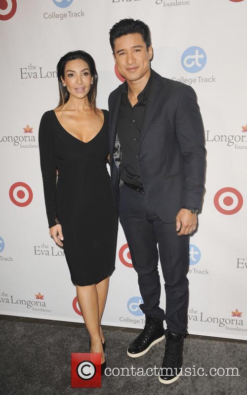 Mario Lopez and Courtney Mazza 2