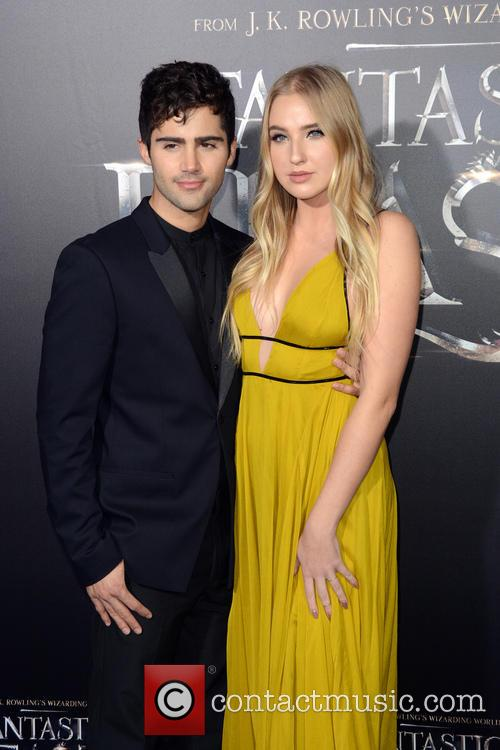 Max Ehrich and Veronica Dunne