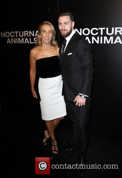 Aaron Taylor-johnson and Wife Sam Taylor-johnson
