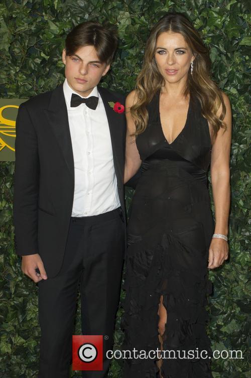 Damian Hurley and Elizabeth Hurley 2